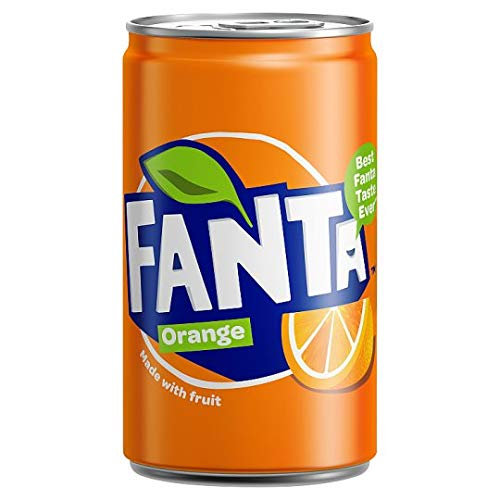 Fanta Orange 150ml Mini Can - 24 Pack