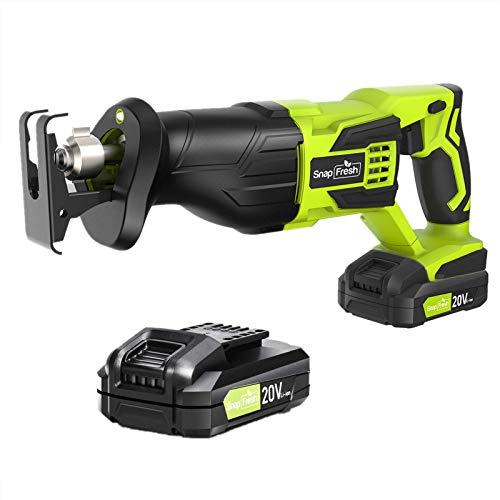 SnapFresh Cordless Reciprocating Saw With 2.0 Ah Battery&Charger