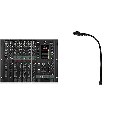 Behringer Pro Mixer DX2000USB 7-Kanal DJ Mixer mit optischem Infinium Crossfader und integriertem USB/Audio Interface & American Audio Mini LED Gooseneck lamp BNC