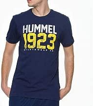 Hummel Erkek HMLDICAN S/S T-Shirt, Mavi, M