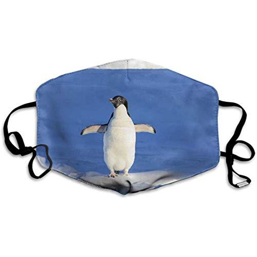 Pinguin lustige Blaue Wassertier-Party Mundabdeckung Earloop Gesichtsabdeckung Gesichtsabdeckung