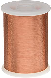 """Remington Industries 44SNSP.25 44 AWG Magnet Wire, Enameled Copper Wire, 4 oz, 0.0022"""" Diameter, 19950` Length, Natural"""