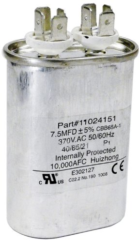 Hayward HPX11024151 7-1/2 Uf Fan Run Capacitor Replacement for Hayward Heatpro Heat Pump