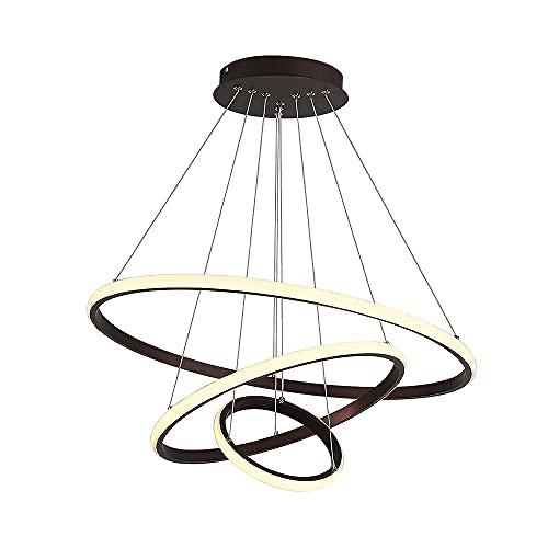 Lampadari, illuminazione a soffitto, adatto per apparecchi di illuminazione moderni in soggiorno, sala da pranzo, camera da letto, corridoio anello Led lampadario