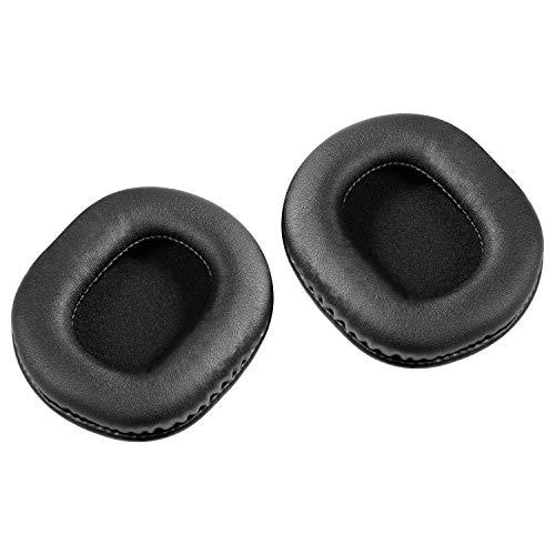 Ersatzohrpolster für Audio-Technica ATH-M50x M50x M20x M30x M40x ATH-SX1, AURTEC Kopfhörer Ohrpolster Kissen mit Memory-Form