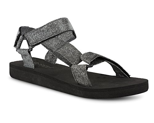 Twisted Women's Telly Strap Sandal - Pewter, Size 6