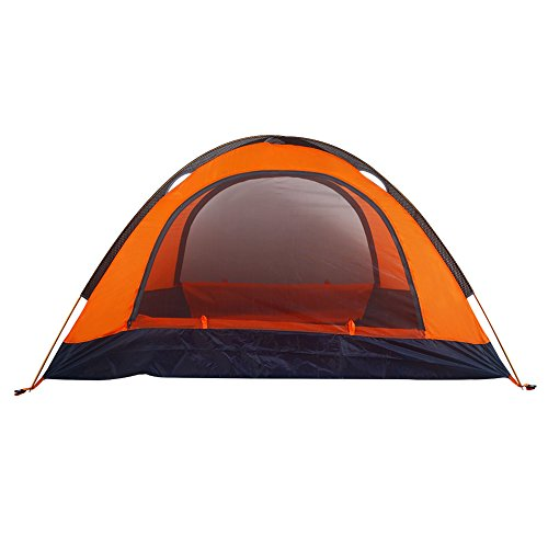 Mounchain 2 Person Combination Tent Double Layer Detachable with Carry Bag Windproof Waterproof 3-4 Season Camping Tents Easy Setup for Camping Hiking Backpacking Climbing (Style A)