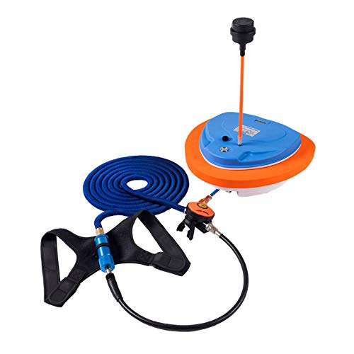 AQUAROBO Nemo Portable&Rechargeable Diving Ventilator System, for Water Sports, Scuba Diving.Electric Waterproof Air Pump,with 39ft Hose & Second Stage Regulator Octopus Hookah with Mouthpiece