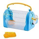 Transporteur Voyage Hamster Portable En Plastique Cage Hamster...