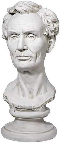 Design Toscano President Abraham Lincoln Bust Statue, Antique St