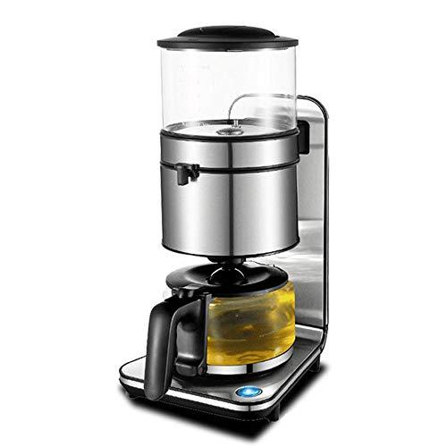 HANTY Kaffeemaschine, Einknopf-Filterkaffeekanne, Anti-Tropf-Design, Abnehmbarer Filter und Trichter, 1,25 l Kapazität, Multifunktionskaffeemaschine