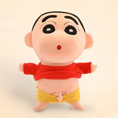 yywl Juguetes de Peluche 35 cm Cosplay Anime japonés Shin-Chan Naughty Crayon Shin Chan Relleno Figura Peluche Muñeca Juguetes para niños
