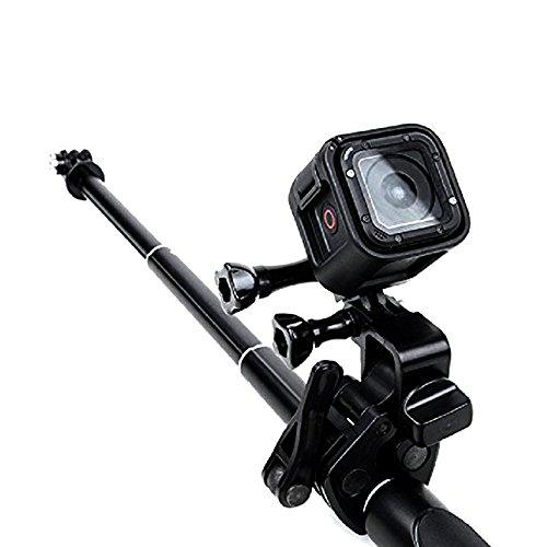 BEESCLOVER Universale Morsetto Clip Supporto per/Canna da Pesca/Arco di Fissaggio per GoPro Hero Sport Action Camera Nero