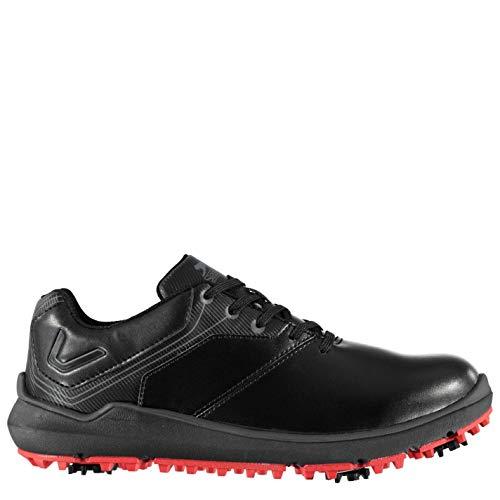 Slazenger Herren V300 Golfschuhe Soft Spikes Schwarz 43