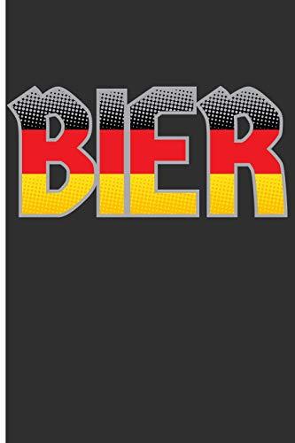 Bier: German Beer Blank Lined Journal
