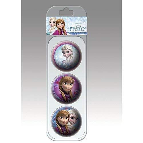 Lively Moments Balles 6 CM Disney LA Reine des NEIGES - LA Reine des NEIGES 3 pièces dans Le Affichage/ Lance Balle / balles à Jouer