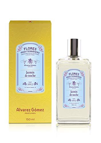 Alvarez Gomez Flores Mediterráneas, Jazmín de Noche, Eau de Toilette, Floral, 150 Mililitros