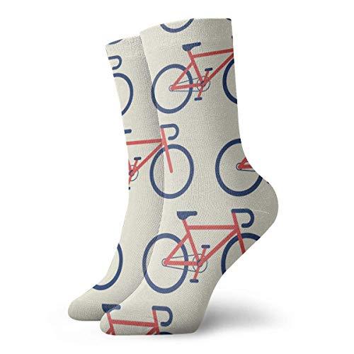 Shizh - Calcetines con bicicletas sin costuras