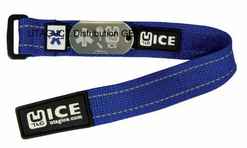 Noodgeval SOS-armband USB veiligheid voor school - kinderen Kids blauw