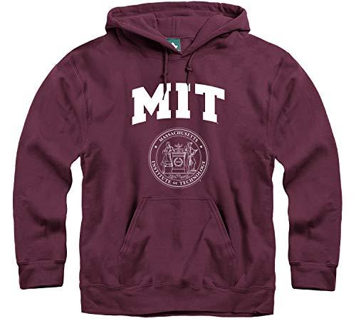 Ivysport MIT Hooded Sweatshirt, Heritage, Maroon, Small