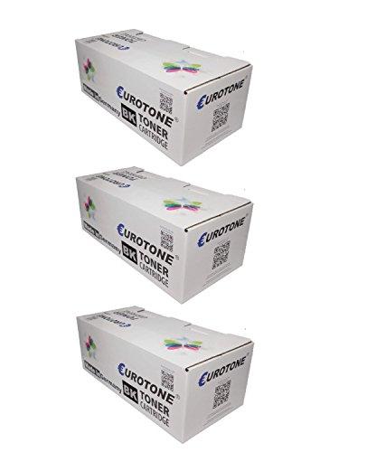 3X Eurotone Eco Toner ersetzt 64016SE 64016HE XXL - für Optra T X 640 642 644: T640 T642 T644 X640 X642 X644