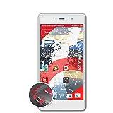 atFolix Schutzfolie kompatibel mit Wiko Fever 4G Folie, entspiegelnde & Flexible FX Bildschirmschutzfolie (3X)