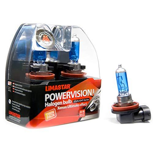 H8-Birne-Xenon-Optik Nebelscheinwerfer-Auto-Lampen Blue White PGJ19-1 12V 35W Glühlampe Ultra weisses Autolicht