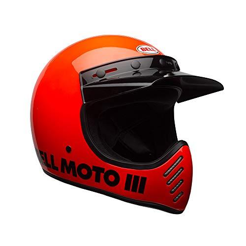 Bell Moto-3 Classic Motocross Helm M (57/58) Orange