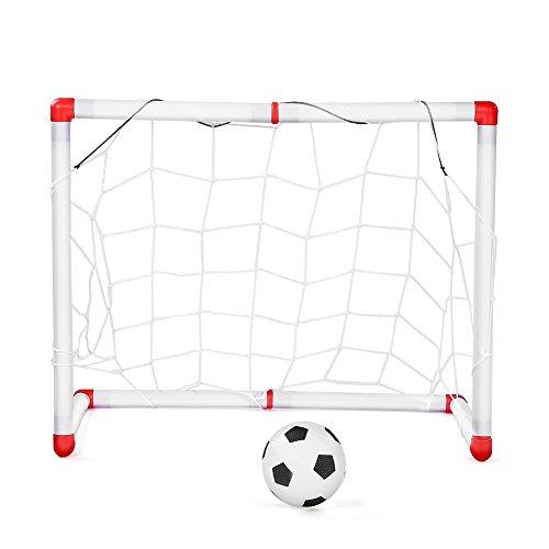 Juguete robusto del juego de fútbol para niños con pelota, para niños en interiores y exteriores