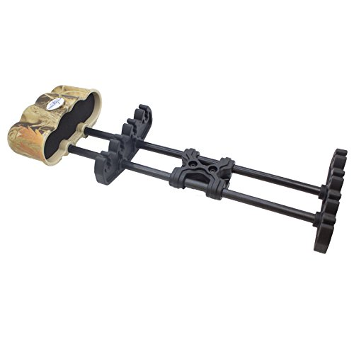 Southland Archery Supply Hunting Crossbow Light Weight Steel Body 4-Arrow Quick Release Quiver - Camo