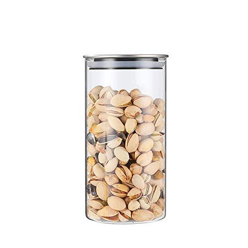 貯蔵タンク 密閉保存容器 パスタ ケース パスタ 保存容器 密閉 コーヒー豆 保存容器 ガラス 密封保存瓶 保存容器 セット ガラス 食品貯蔵容器 保存容器 800ml
