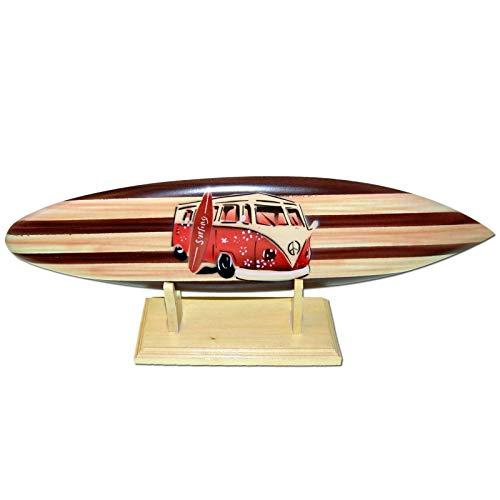 Seestern Sportswear Deko Holz Surfboard 30 cm lang Airbrush Design Surfing Surfen Wellenreiten Surf /FBA_1858