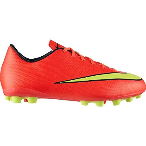 Nike Jr Mercurial AG Scarpe da calcio per bambini e ragazzi, rosso fluo