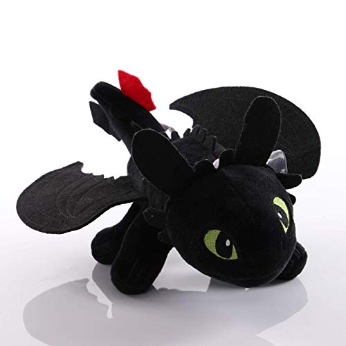 How To Train Your Dragon Toothless Dragon Toys Toothless Dragon Stuffed Animals Black and White Toothless Dragon Pillow Pets The Best Gift for Children