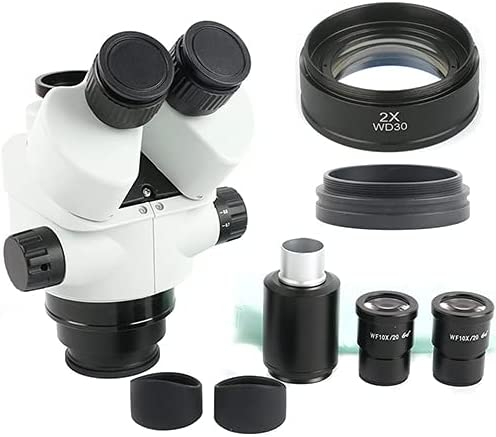 LIMEI-ZEN 7X-45X Max 53% Max 55% OFF OFF Simul-Focal Trinocular M Microscope Stereo Zoom