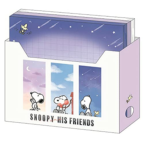 カミオジャパン スヌーピー ファイルBOXメモ(空) [006071]