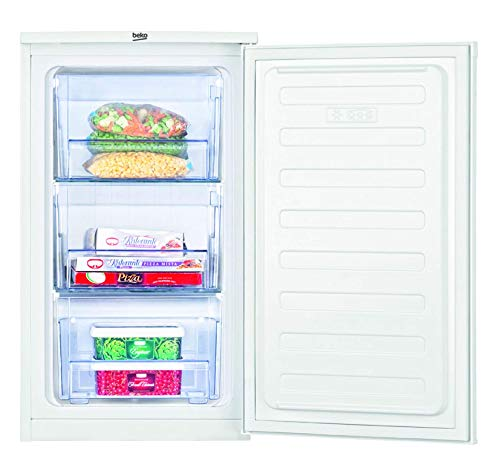Beko FS 166020 freestanding Upright 65L A+ White - Freezers (Upright, 65 L, 8 kg/24h, SN-T, A+, White)