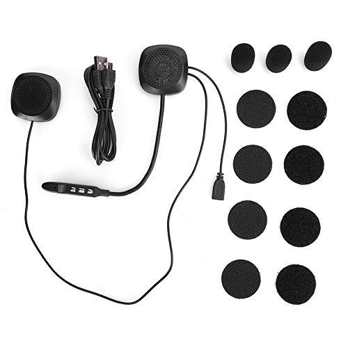 Auriculares Bluetooth 5.0 para casco de motocicleta estéreo con manos libres con micrófono