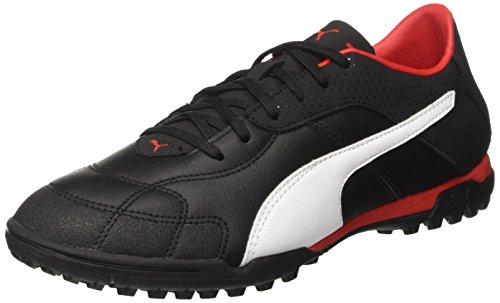 Puma Esito C TT, Zapatillas de fútbol Americano para Hombre, Negro Black White Red, 43 EU