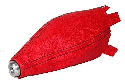 Für Honda Civic EP3Schrägheck 2001–2005Schaltsack rot Leder mit schwarzen Nähten