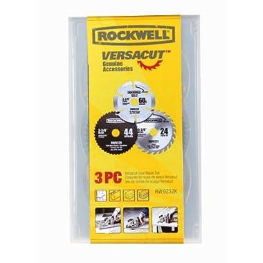 Rockwell RW9232K VersaCut 3-piece Circular Saw Blade Set