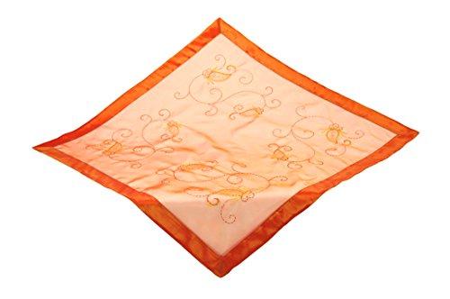 Bellanda Tischdecke, Polyamide, 50% Polyester, orange, 85 x 85 x 0.5 cm