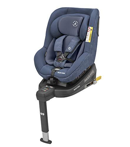 Maxi-Cosi Beryl 'Nomad Black' - Silla de auto R44/04 Isofix, grupo 0/1/2, 0-25 kg, desde El nacimiento hasta Los 7 años, en posición Contramarcha y cara a la marcha, color negro