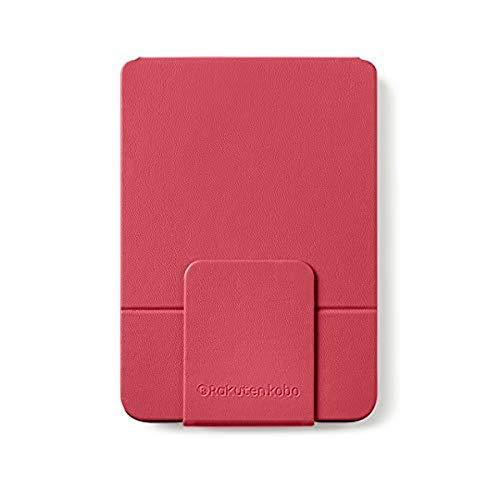 "Rakuten Kobo Clara HD SleepCover e-Book Reader case Red 15.2 cm (6"") - e-Book Covers (Libro, Red, Kobo, 15.2 cm (6""), Faux Leather, Clear HD)"