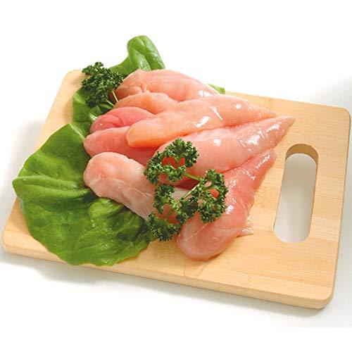 阿波尾鶏 ささみ 2kg(1パックでの発送) (徳島県産) (pr)(02705)特定JAS認定 国産出荷量ナンバー1の軍鶏血統地鶏