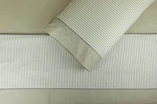 Sábanas Blancas 150 Una Almohada  Marca Burrito Blanco