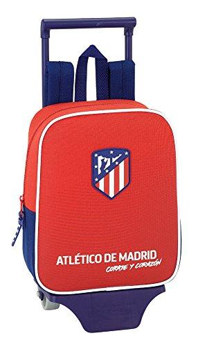 Safta Mochila Atlético De Madrid 'Coraje' Oficial Guardería Con Carro Safta 220x100x270mm