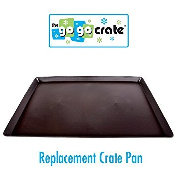 GoGo Plastic Dog Crate Replacement Pan/Tray