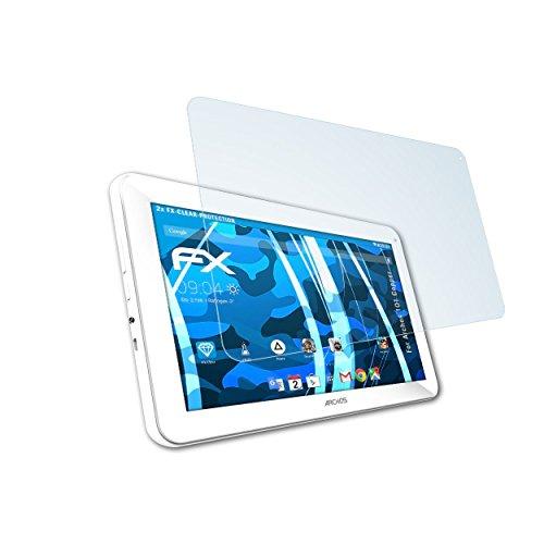 atFolix Schutzfolie kompatibel mit Archos 101 Copper Folie, ultraklare FX Displayschutzfolie (2X)
