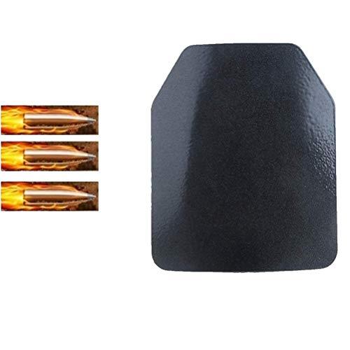 PLEASUR Paneles antibalas de 4.5 mm Placa balística Protector de Pecho Protector de Seguridad de Aleta para Chaleco Mochila Placa de inserción
